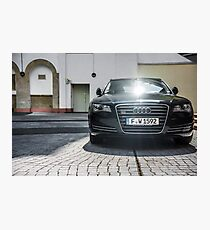 Audi A8 Photographic Print
