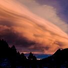 Flight of The Sunset Clouds by Gregory J Summers