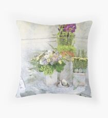 Tipping the Cups Throw Pillow