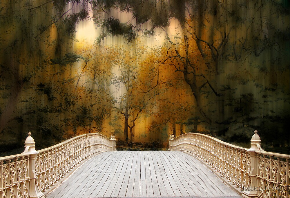 Pine Bank Arch in Autumn by Jessica Jenney