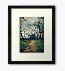 It All Depends Framed Print