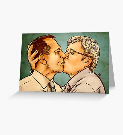 Tony and Kevin Greeting Card