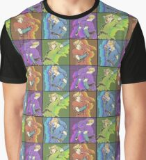 Legend of Zelda: 4 swords adult Links Graphic T-Shirt