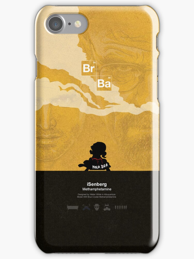 iSenberg - Breaking Bad iPhone Case by ronnywilko