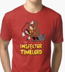 Inspector Timelord Tri-blend T-Shirt