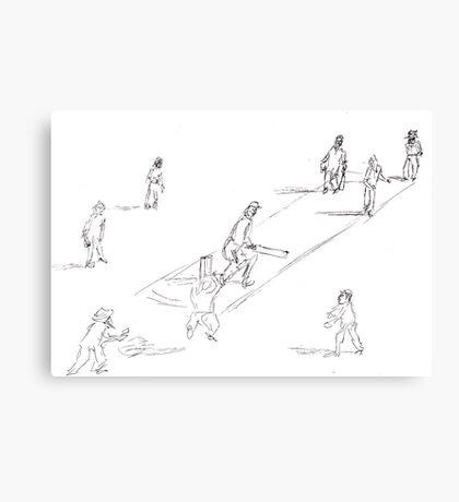 Twilight Cricket Canvas Print