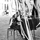 Pianist & Cyclist by Mick Yates