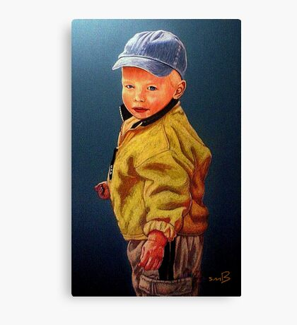 The Golden Child #2 Canvas Print