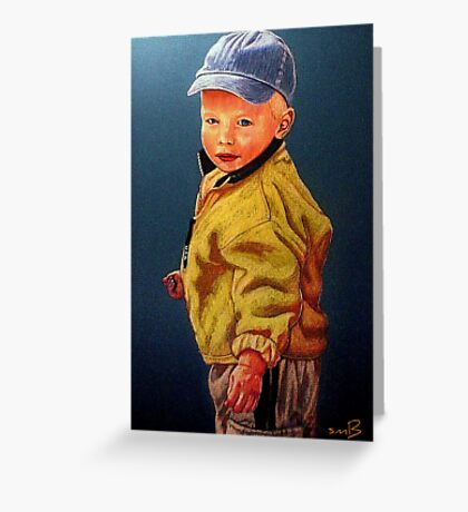 The Golden Child #2 Greeting Card