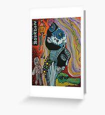 Dreaming of Mardi Gras Greeting Card