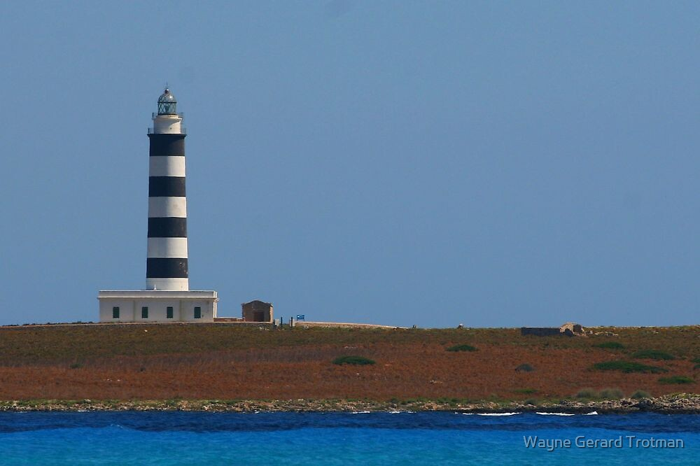 Lighthouse, Menorca by Wayne Gerard Trotman