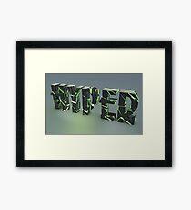 """""""HYPER......"""" Framed Print"""