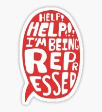 Help Help Sticker
