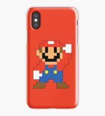 Super Mario Maker - Modern Mario Costume Sprite iPhone Case/Skin