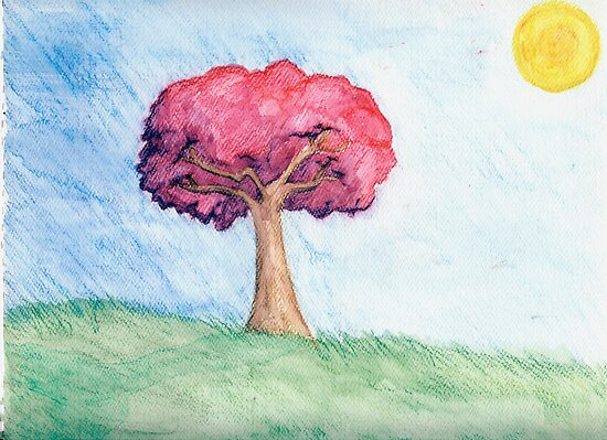 Eight Realms: Background #4... water colors... by kangarookid