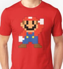 Super Mario Maker - Modern Mario Costume Sprite T-Shirt