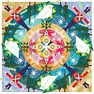 Holiday Mandala by artbymargaret