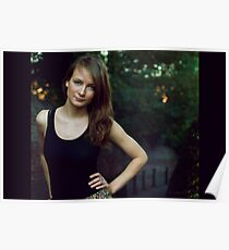 My best model Ilze Poster