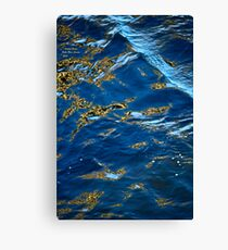 Byske River - Abstract, Canvas Print