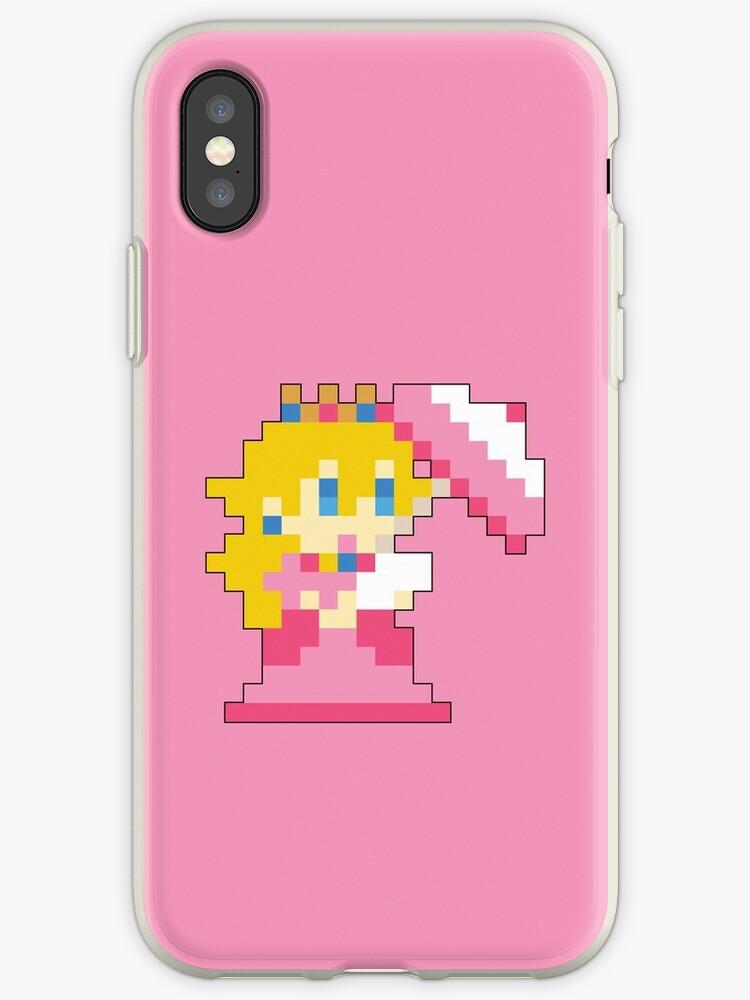Super Mario Maker - Princess Peach Costume Sprite by NiGHTSflyer129