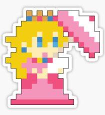 Super Mario Maker - Princess Peach Costume Sprite Sticker