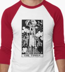 The Tower Tarot Card - Major Arcana - fortune telling - occult T-Shirt