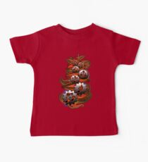 Music Engineer - Music Notes & Gears (red) Baby Tee