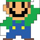Super Mario Maker - Luigi Costume Sprite by NiGHTSflyer129