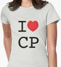 I Heart CP Women's Fitted T-Shirt