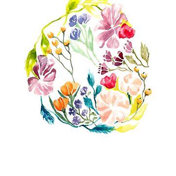 Floral Circle by ToriTori