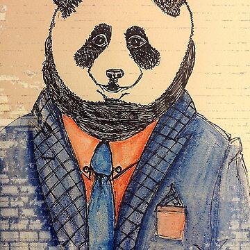 Panda Snoot - Colour by Silvercircle