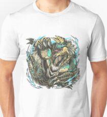 Sparkling Blue Light (Colored) Unisex T-Shirt