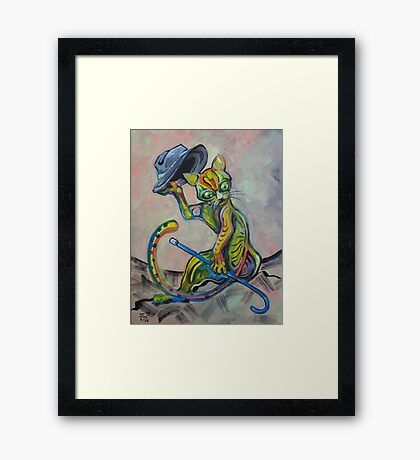 Another cat Framed Print