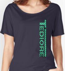 Tediore Carbon Logo Women's Relaxed Fit T-Shirt