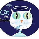 Cat with nimbus by artbymargaret
