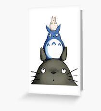 Totoro Grußkarte