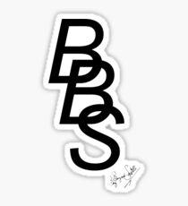BBS Chain Logo Sticker