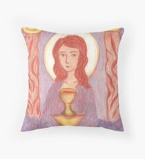 Goddess- Mary Magdalene  Throw Pillow