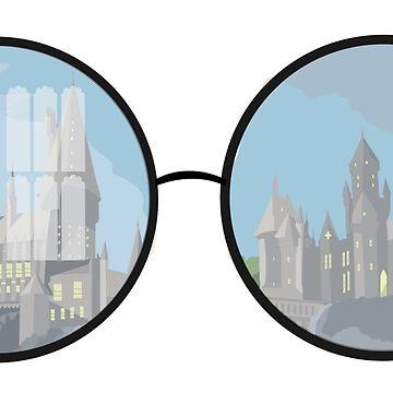 glasses castle by ToriTori
