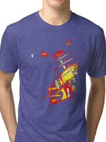 Dalek Beta – Bronze Tri-blend T-Shirt