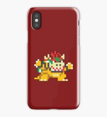 Super Mario Maker - Bowser Costume Sprite iPhone Case/Skin