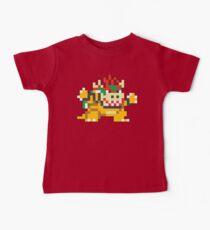 Super Mario Maker - Bowser Costume Sprite Kids Clothes