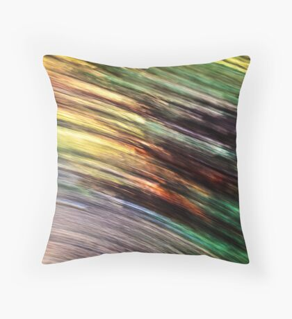Motion In Nature Throw Pillow