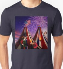 Save America First. The End Times Festival. T-Shirt