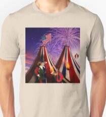Save America First. The End Times Festival. Unisex T-Shirt