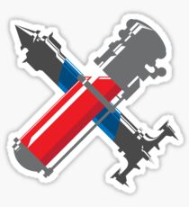 Dishonored Elixir and Remedy Shirt Sticker