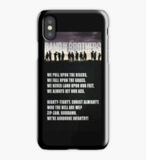 Band of Brothers - Airborne Infantry iPhone Case/Skin
