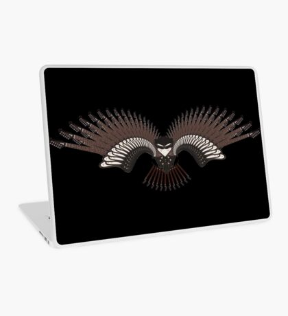 Guitar Bird Laptop Skin