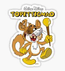 Topettignao n°1 Copertina Storica Anni Uttanta  Sticker