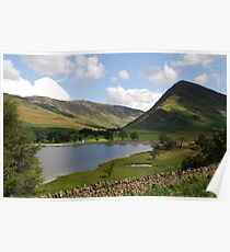 Buttermere  Lake District Poster